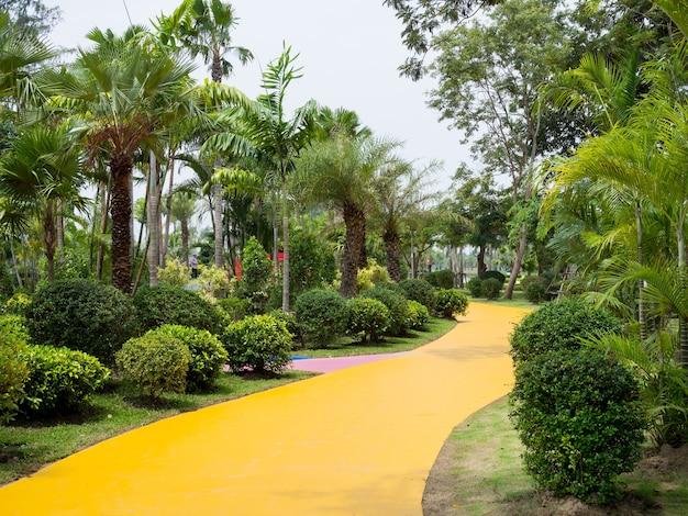 Parc public vert