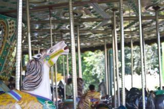 Parc à thème carrousel, un événement