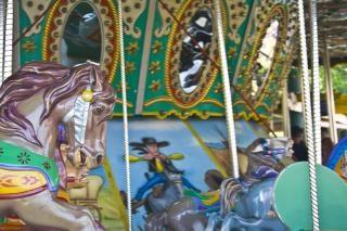 Parc à thème carrousel