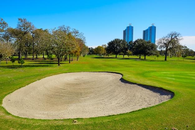 Parcours de golf de houston dans le parc hermann