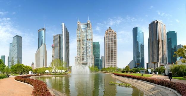 Parcs et architecture moderne
