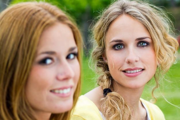 Pareja gente belleza retrato personas