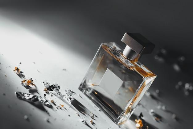 Parfum jaune élégant