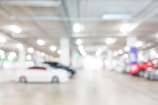 Parking d'affaires vide parking abstrait