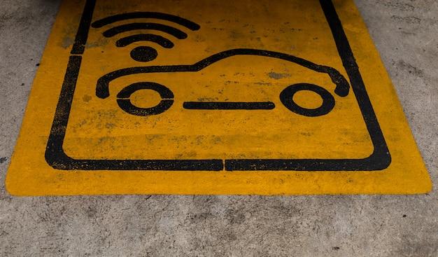 Parking public avec technologie sans fil