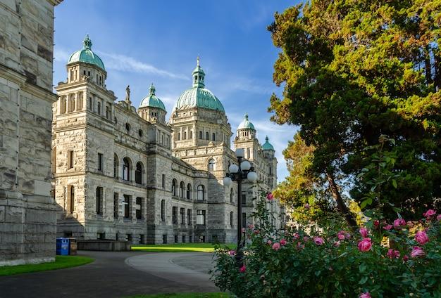 Parlement de la colombie-britannique à victoria, canada