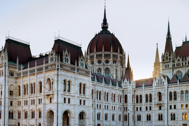 Le parlement hongrois à budapest