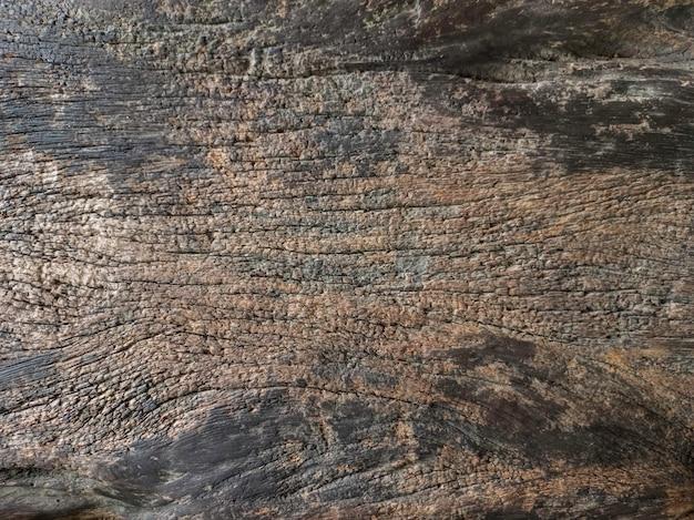 Parquet ancien marron foncé