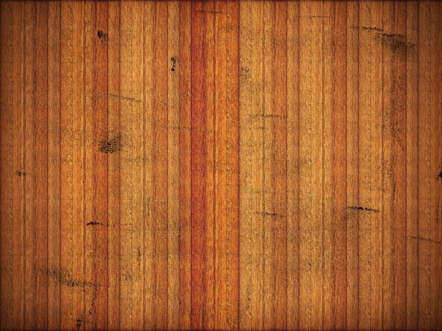 Parquet en bois gâté