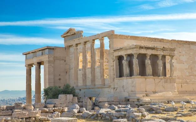 Parthénon sur l'acropole d'athènes, grèce