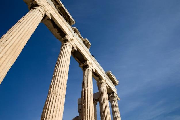 Parthénon sur l'acropole d'athènes