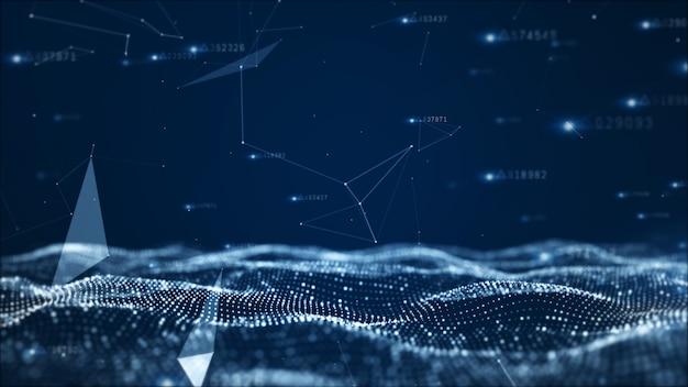Particules abstraites numériques et données de réseau