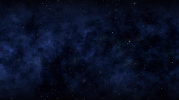 Particules et étoiles dans la galaxie, fond abstrait. illustration 3d de style élégant et luxueux pour le cosmos