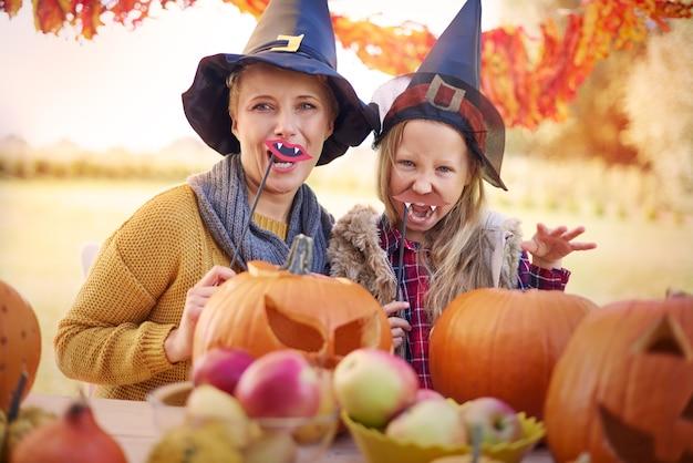 La partie la plus drôle d'halloween