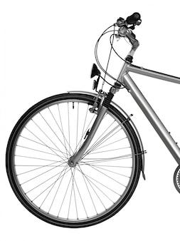 Partie de vélo isolée (tracé de détourage)
