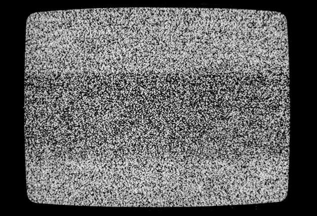Pas de signal tv texture