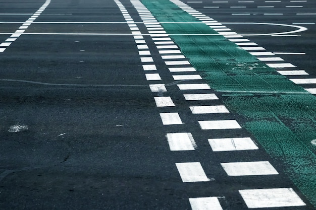 Passage routier urbain