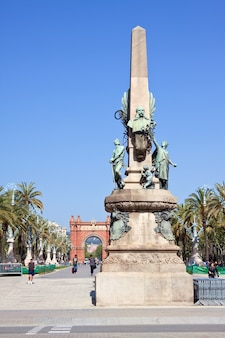 Passeig de lluis companys, barcelone