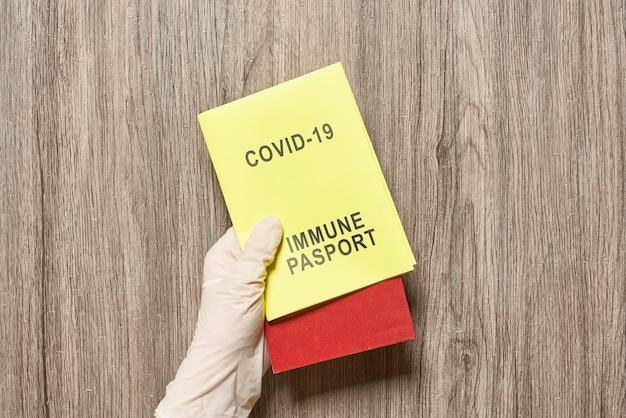 Passeport immunitaire covid vaccin id passeports covid nouveaux passeports de voyage avec vaccination ou