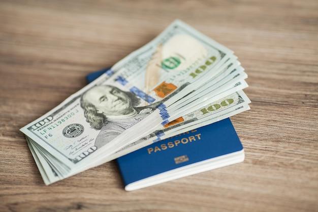 Passeport ukrainien.