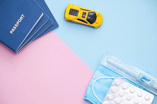 Passeports, voiture et fournitures médicales