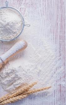 Passoire à farine épis de blé