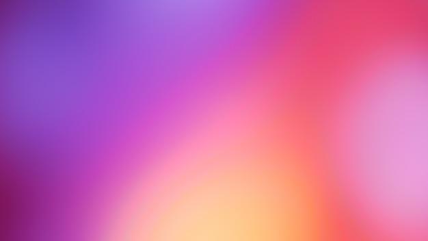 Pastel ton violet rose bleu dégradé défocalisé photo abstraite lignes lisses couleur fond