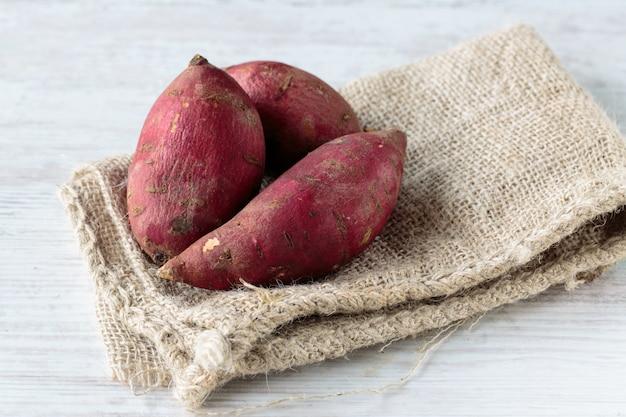 Patates douces rouges