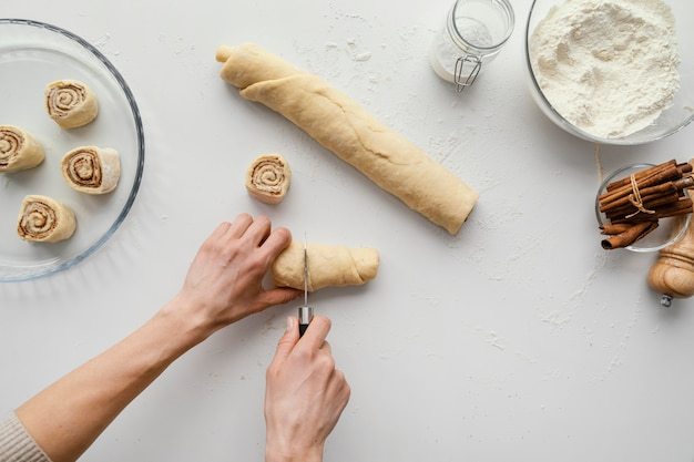 Pâte à brioche à la cannelle