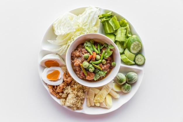 Pâte de piment thaï