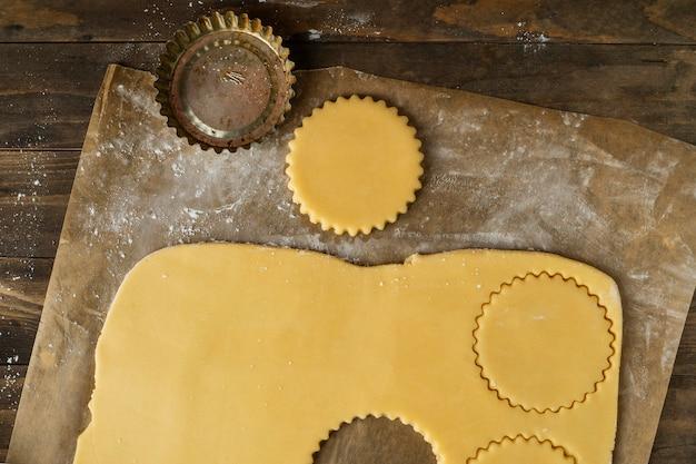 Pâte à plat pour alfajores