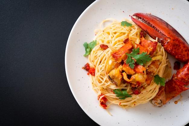 Pâtes all'astice ou spaghetti de homard