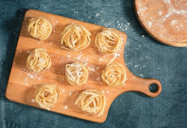 Les pâtes italiennes sèches