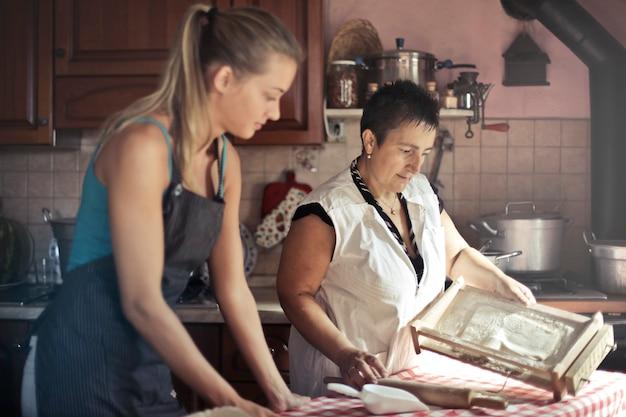 Pâtes traditionnelles faites maison