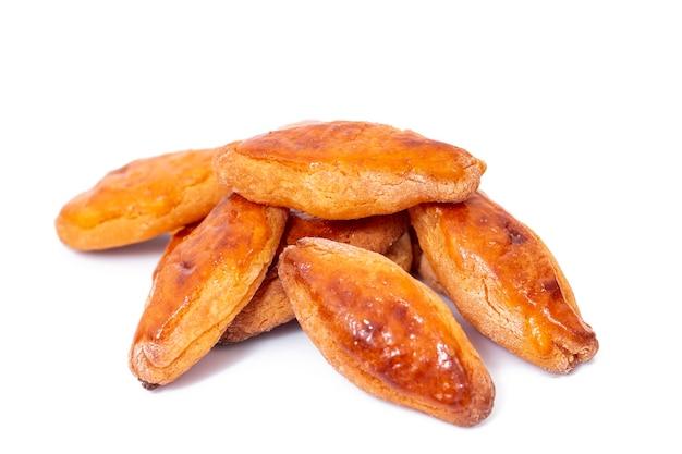 Pâtisserie portugaise typique de maïs et de miel sucrée