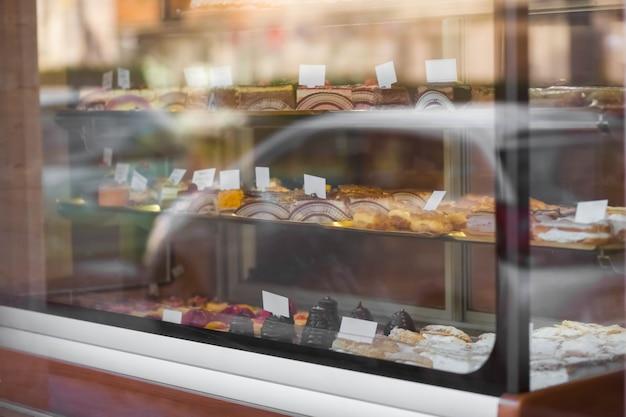 Pâtisserie vitrine