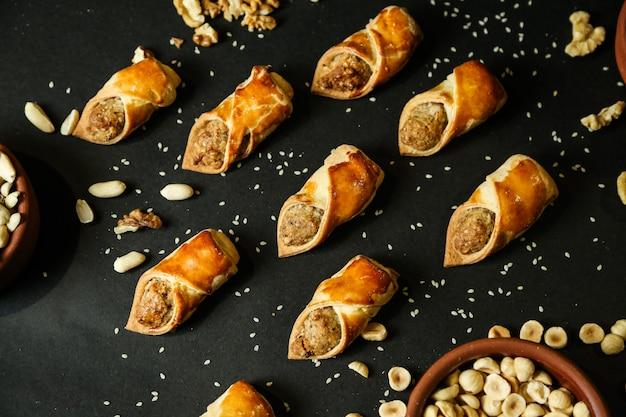 Pâtisseries aux noix