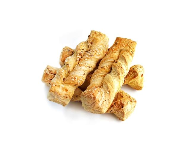 Pâtisseries feuilletées au sésame et graines de carvi