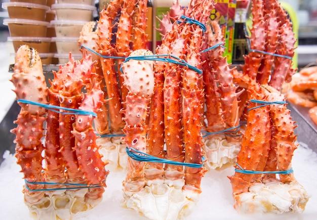 Pattes de crabe royal