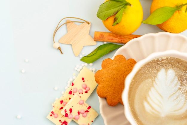 Pause café hivernale