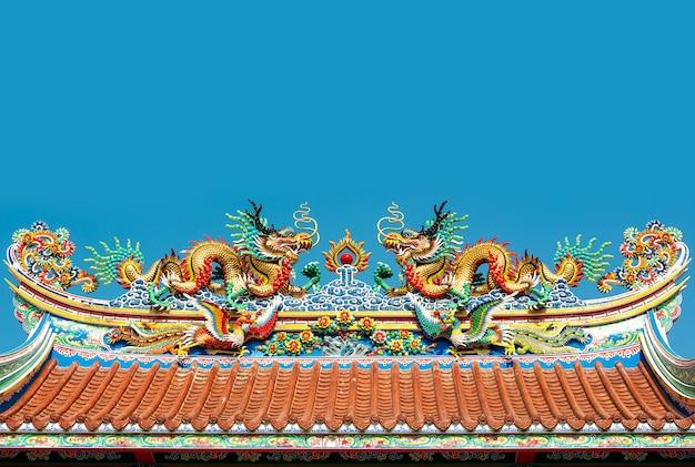 Pavillon de dragon chinois