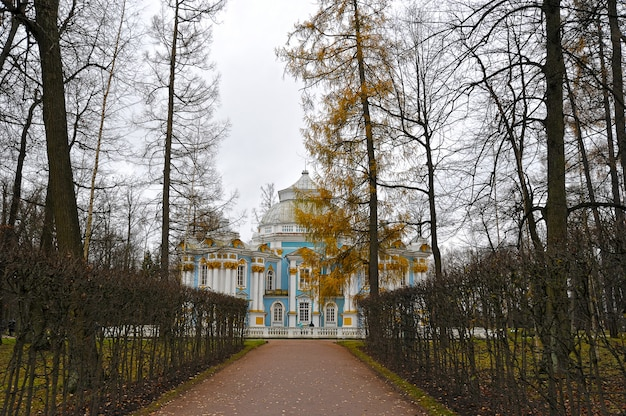 Pavillon hermitage au parc catherine