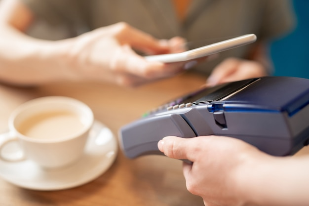 Payer via un gadget mobile