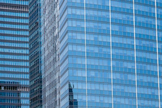 Paysage architectural de bâtiments commerciaux en centre ville