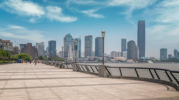 Paysage de bâtiment ancien shanghai bund