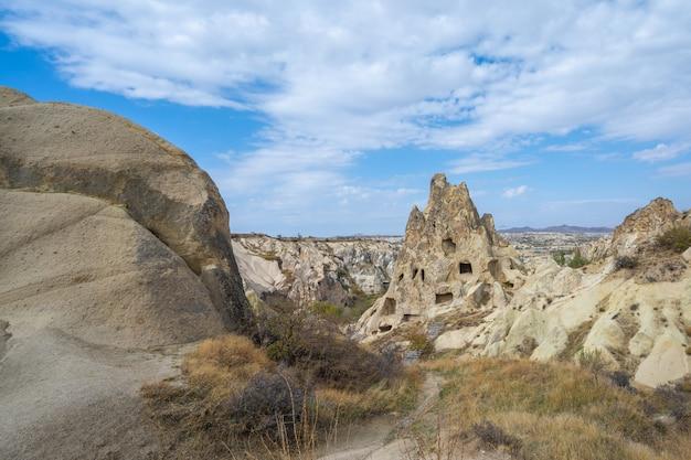 Paysage de cappadoce à göreme, turquie