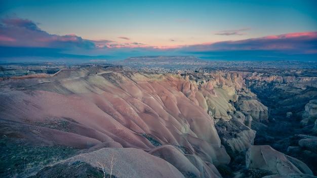 Paysage de cappadoce turquie
