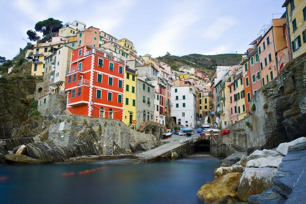 Paysage des cinque terre en italie