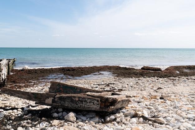 Paysage de la côte atlantique d'une île française ile de ré