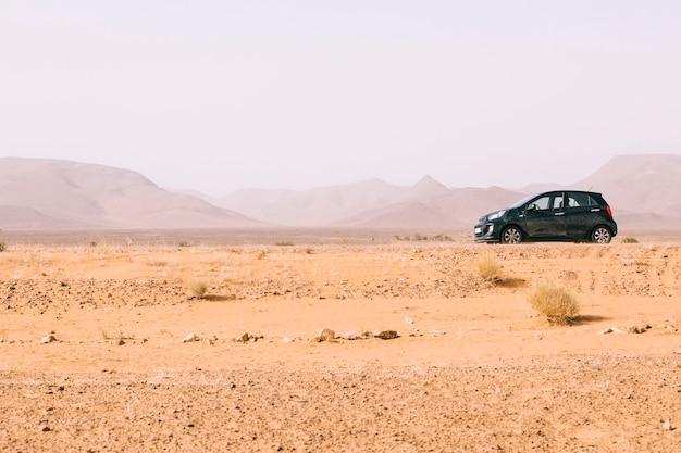 Paysage désertique au maroc